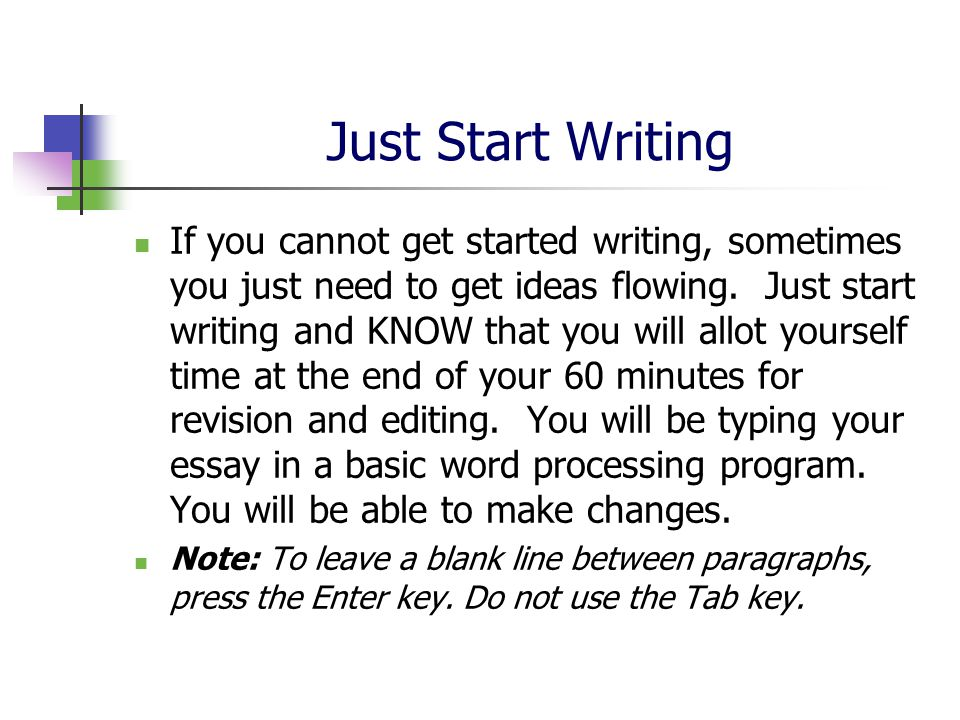 end of program essay To include or not to include: tips for your admissions essay writing a graduate admissions essay is one of the most important tasks any student will ever face.