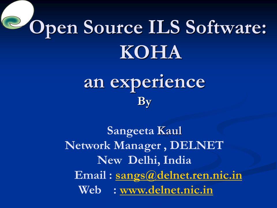open source ils software koha ppt