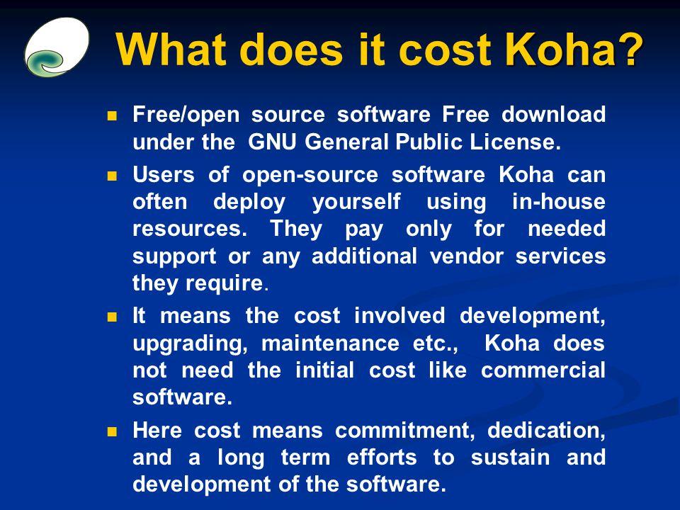 Open Source Ils Software Koha Ppt Video Online Download