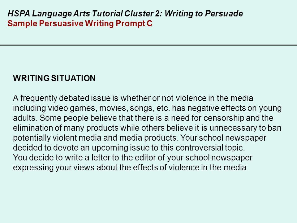 Nj hspa persuasive essay prompts College paper Academic Writing ...