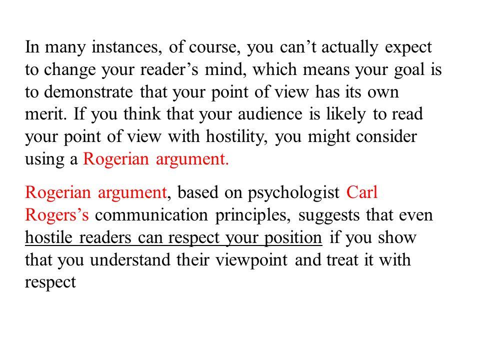 rogerian argument example essay