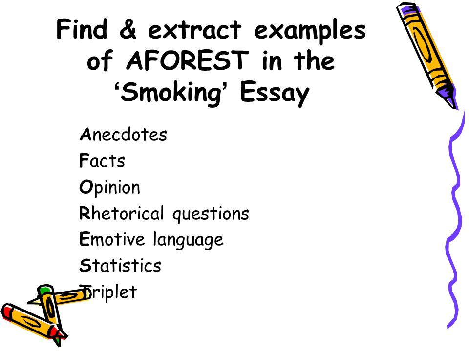 rhetorical question in essays