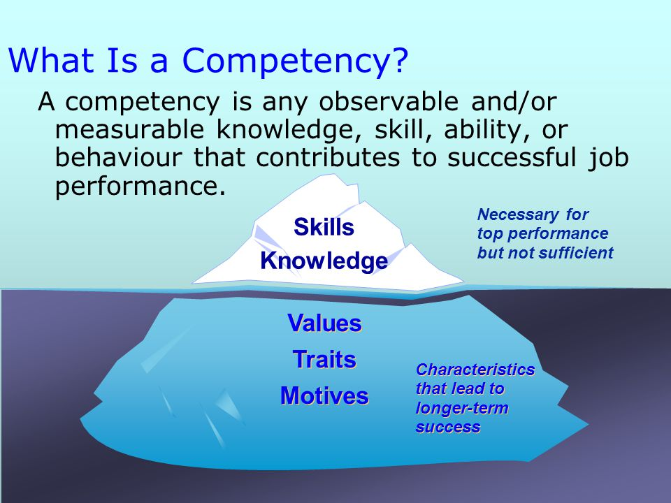 Hr Competencies And Career Development Hr Support Group
