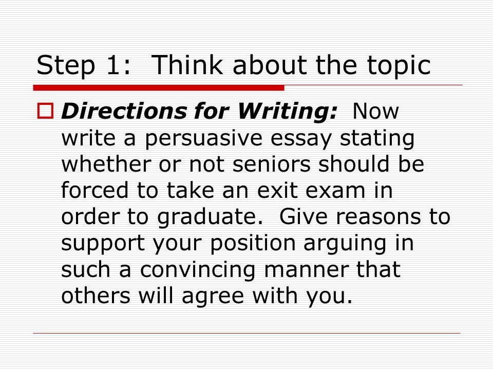 steps to take before writing a persuasive essay How to write an essay essay writing is it becomes obvious that writing a persuasive essay can be as you may have read before, writing a plan.