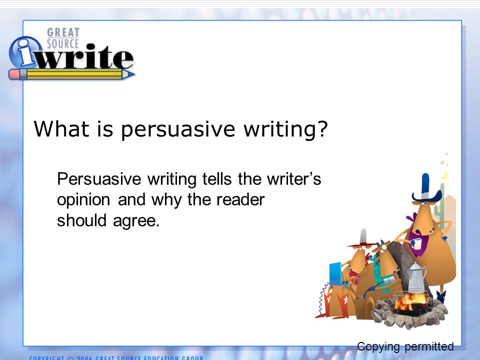 how to write a persuasive essay pdf