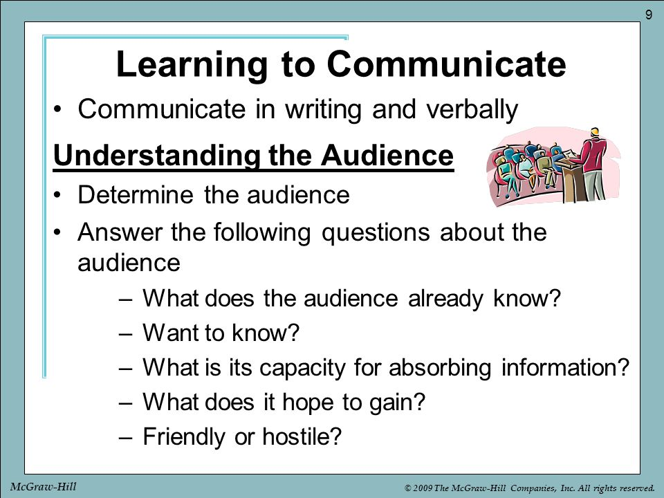 Learning to Communicate