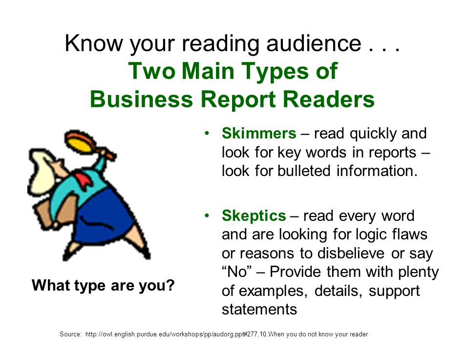 Basic Business Writing ppt video online download – Type of Business Report