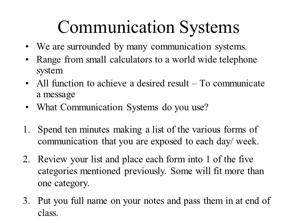 what is communication ppt
