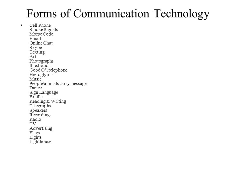 cellphone as modern form of communication Search form search  communication breakdown: how cell phones hurt communities  though cell phones can be wonderful, liberating tools of communication, freeing us from the confines of an.