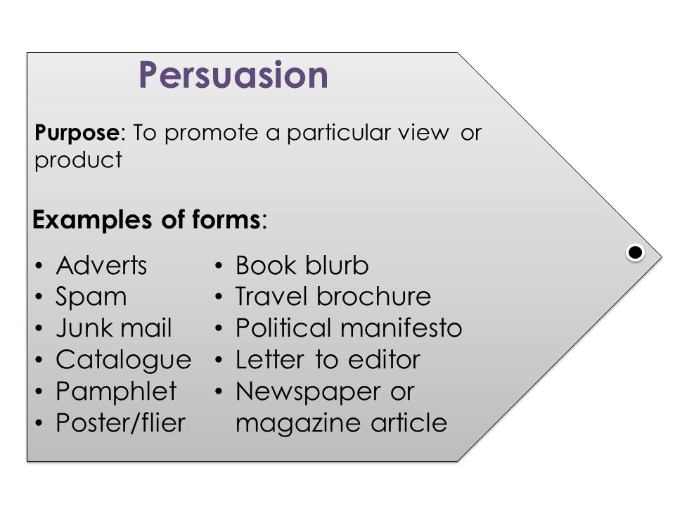 persuasive writing adverts and leaflets ppt  3 persuasion examples