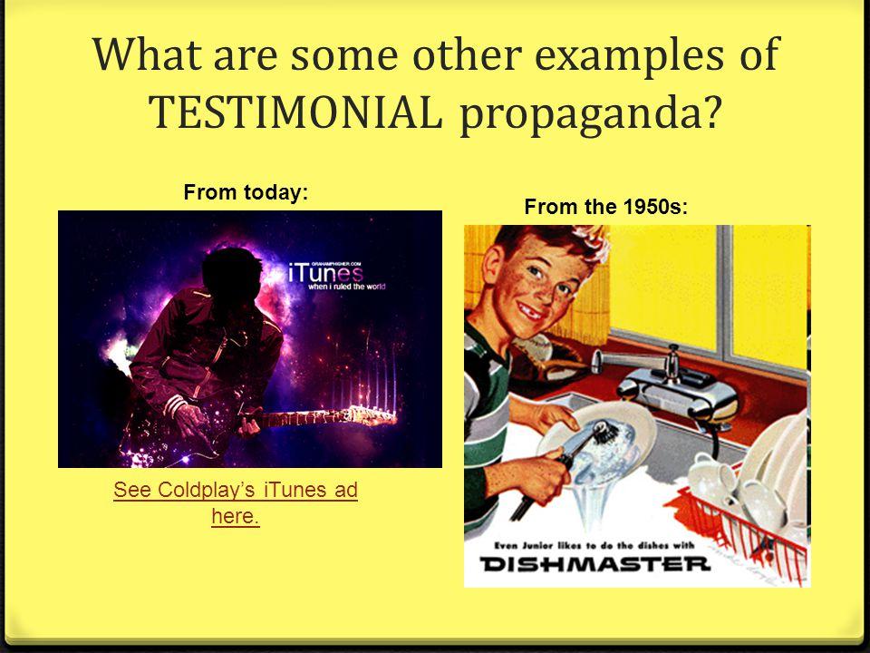 Propaganda Examples Todays Media Persuasive Techniques ...