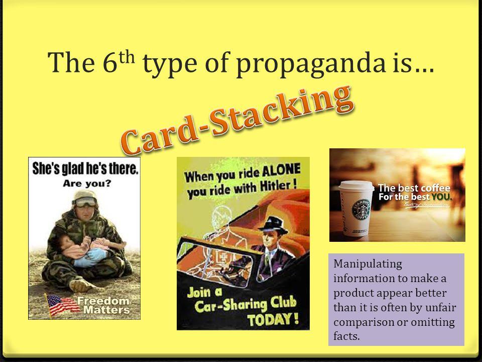 persuasive techniques and propaganda