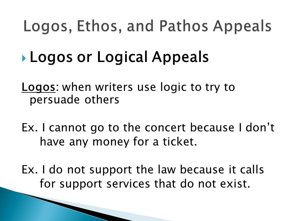 ethos pathos and logos using gay marriages