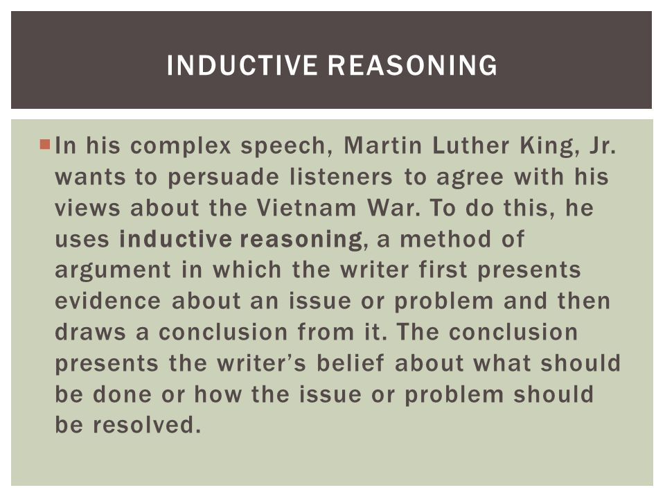 martin luther king jr essay on his speech Martin luther king jr the bus boycott described by gunnar jahn in his presentation speech in honor of the laureate king, martin luther, jr.