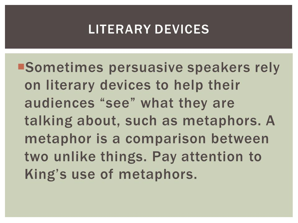 a metaphor is a literary essay Creativity and logic collide--an extended metaphor essay plan your 60 minutes lesson in english / language arts or connection with audience with helpful tips from leah braman.