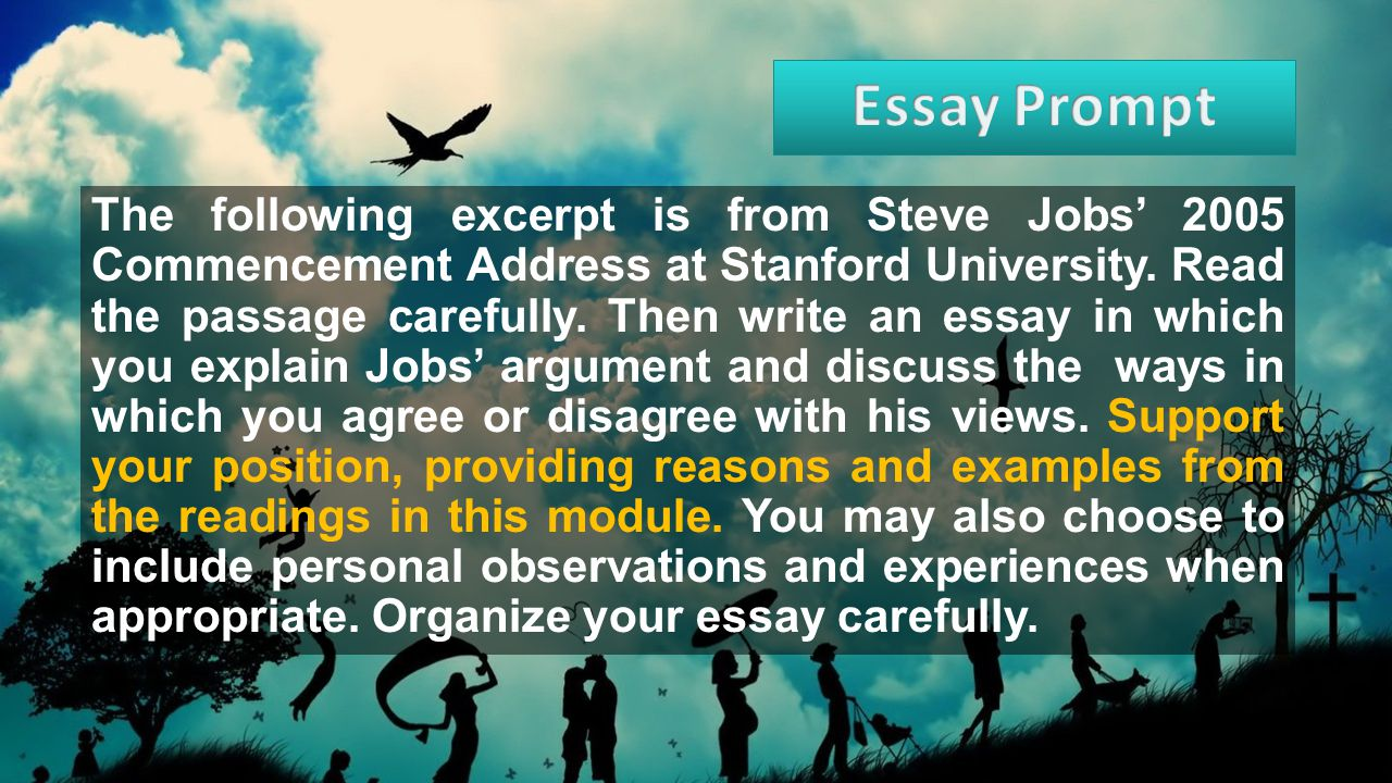 essays on walden How to Write the Stanford University Essays