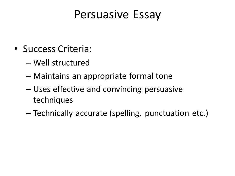 national persuasive essay ppt video online persuasive essay success criteria well structured