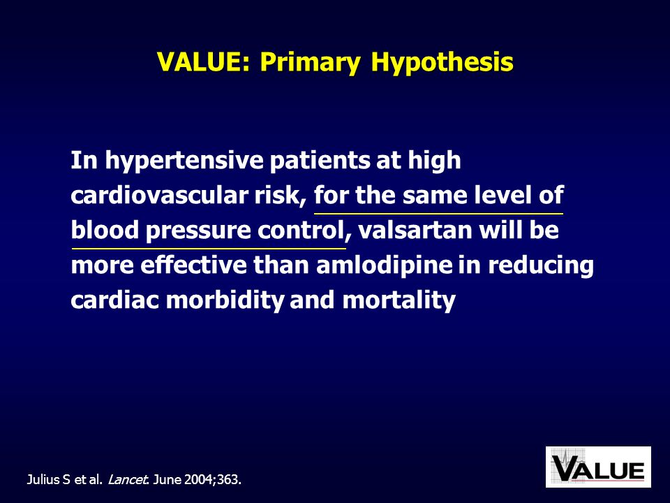 VALUE: Primary Hypothesis