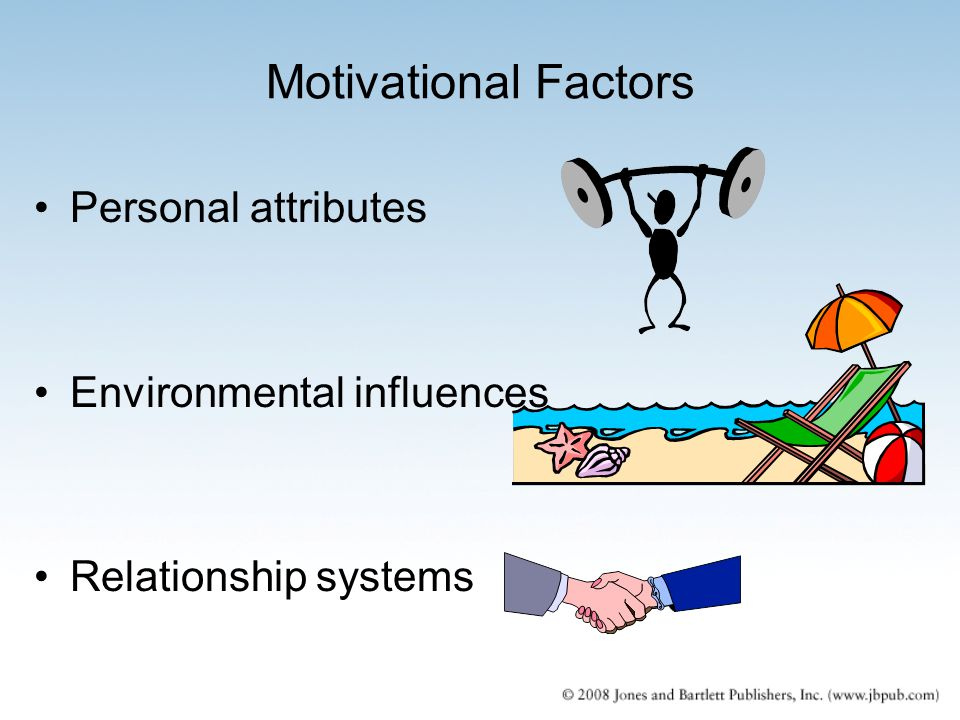 the environmental factors that influence the character of an individual Factors influencing individual the key factors influencing an individual's attitude in a factor that might influence work allocation and evaluation.
