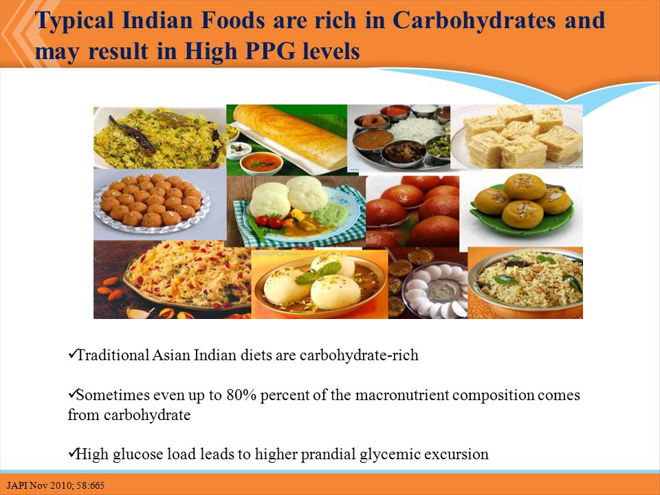 Carbohydrate Rich Foods In Indian