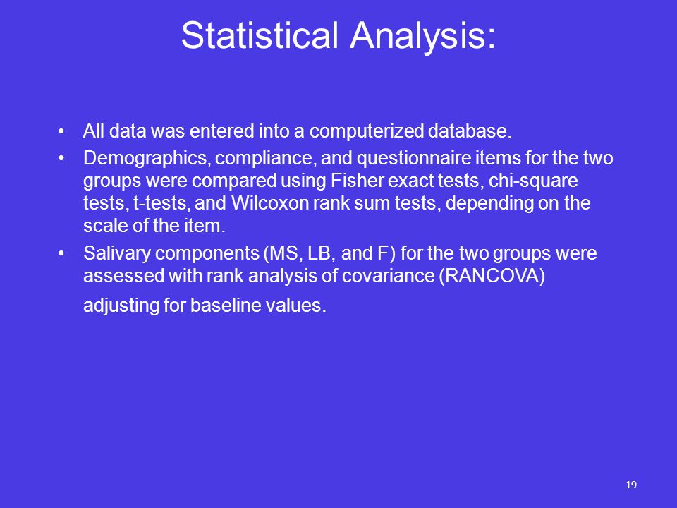 statistical analysis for managers Statistics training courses provide tools and methods to perform statistical analysis and interpret data find courses and member discounts at asqorg.