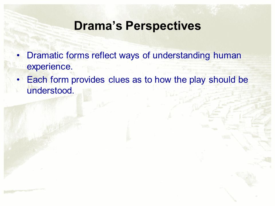 Chapter 5 – Theatrical Writing: Perspectives and Forms - ppt video ...