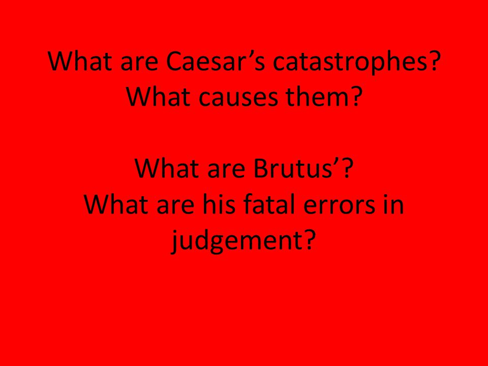 tragedy and his tragic errors essay An essay or paper on a drama concepts of tragedy a discussion of a variety of dramatic works from agamemnon to hamlet demonstrates the range of.