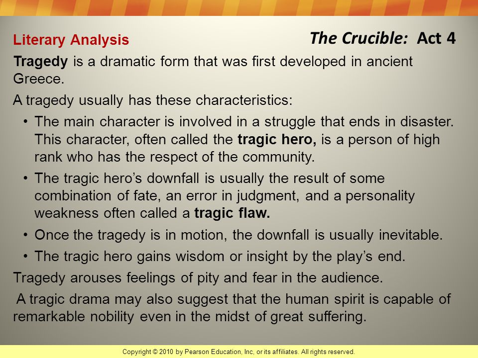 human failing the crucible Greed in the crucible 1 english 2 september 29th, 2014 the crucible: quotes essay the crucible is a play written in 1953 by arthur miller it is a dramatized and fictionalized story of the salem witch trials that took place in the province of massachusetts bay during 1692 and 1693.