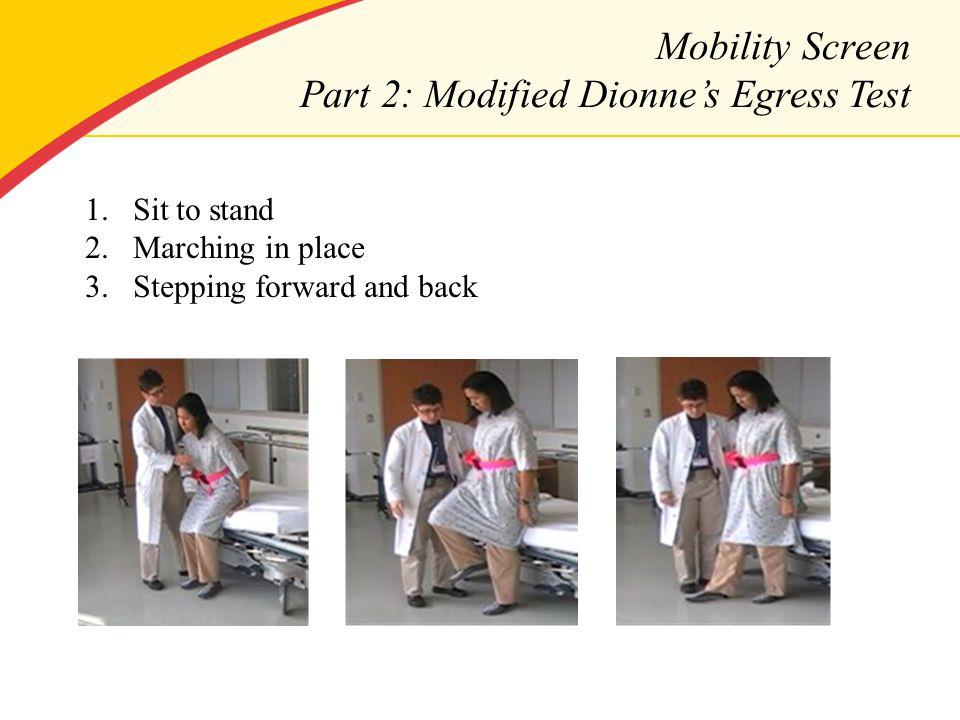 Early Mobility Program: An Interdisciplinary Approach UMRN ...