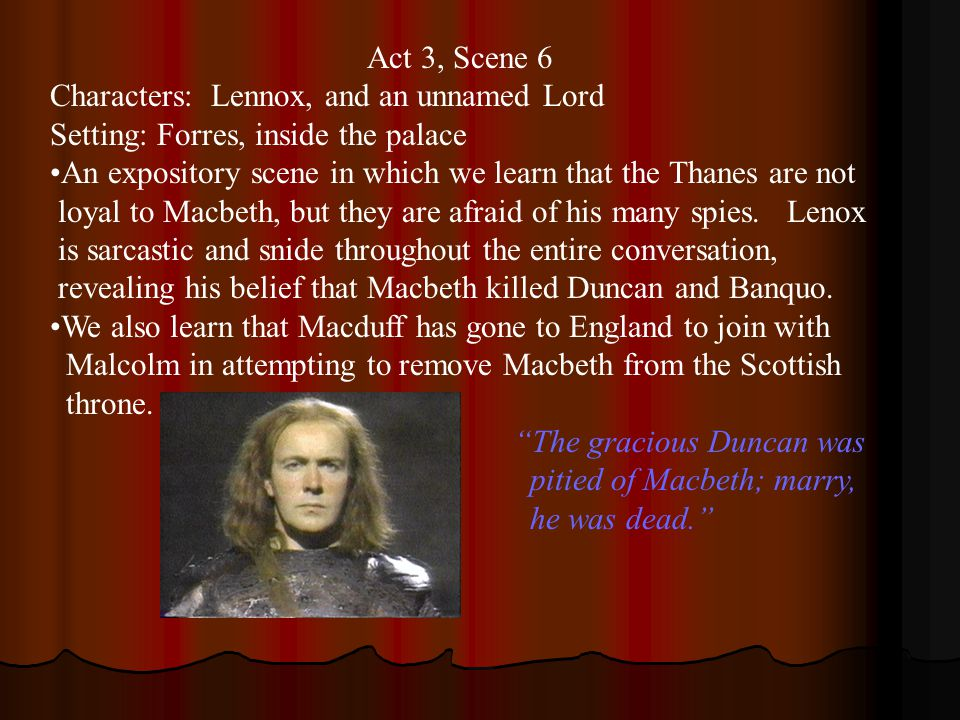 a focus on the main characters macbeth and lady macbeth in shakespeares macbeth Introduction to the main characters in macbeth macbeth the horrific and detestable acts perpetrated by macbeth mirror the crimes of shakespeare's great villains -- aaron the moor, iago, richard iii, edmund -- all at the ready to slaughter women and children, usurp divinely appointed kings, and butcher their closest friends to satisfy ambitious cravings.