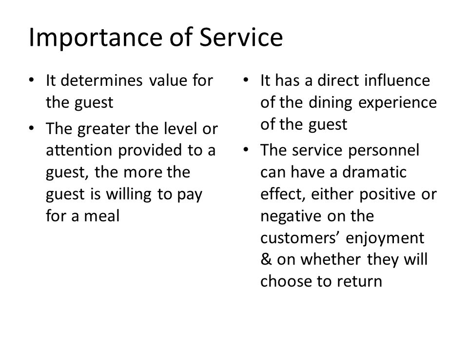 the service encounter determines the quality Service quality (sq), in its contemporary conceptualisation, is a comparison of perceived expectations (e) of a service with perceived performance (p), giving rise to the equation sq=p-e this conceptualistion of service quality has its origins in the expectancy-disconfirmation paradigm.