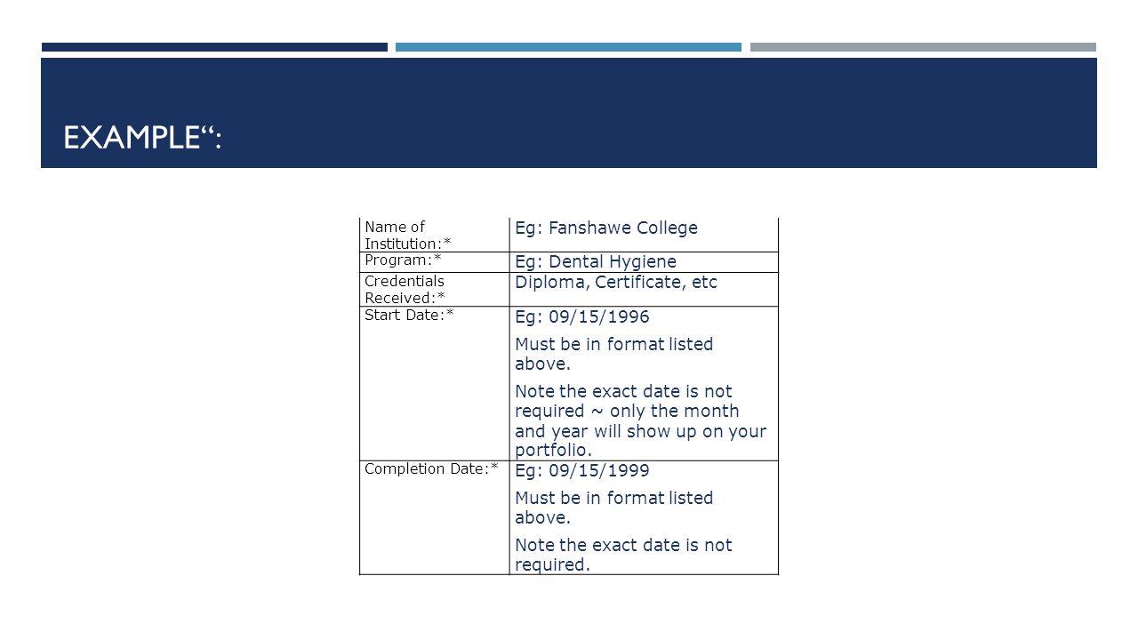 Dentalelle tutoring online learning ppt download example eg fanshawe college eg dental hygiene xflitez Choice Image