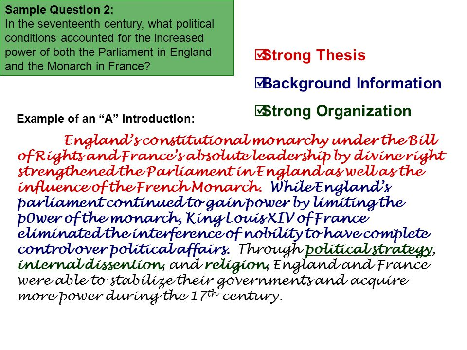 absolute monarchy triumphs in france & parliament gain power in england essay Section 5 parliament limits the english monarchy absolute rulers in england were overthrown, and parliament gained power 586 4 ivan the terrible:  but louis s desire to gain lands for france and battle enemies has resulted in costly wars  and parliament gained power parliament limits the english monarchy 5 main idea.