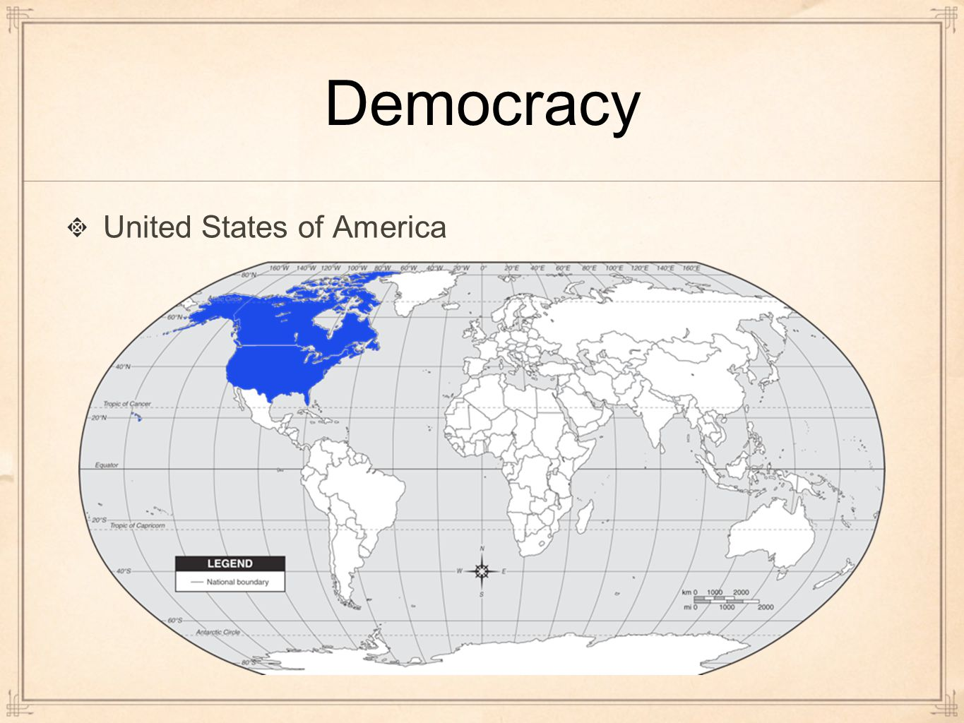 a history of democratic government in the united states With the adoption of a democratic republic, the constitution of the united states not only generates a rostrum for liberty, equality and fraternity, but also extols the definition of democracy as a 'government of the people, for the people and by the people', as given by abraham lincoln.