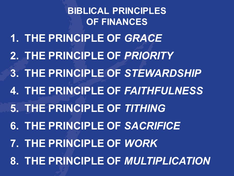 2. THE PRINCIPLE OF PRIORITY