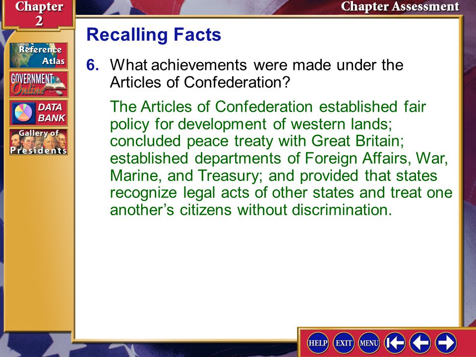Reviewing Key Terms ___ ordinance C ___ limited government E - ppt ...