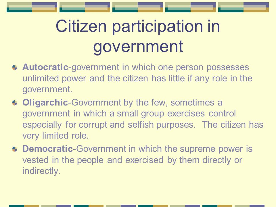 Types of Governments and Economies ppt video online download – Participation in Government Worksheets