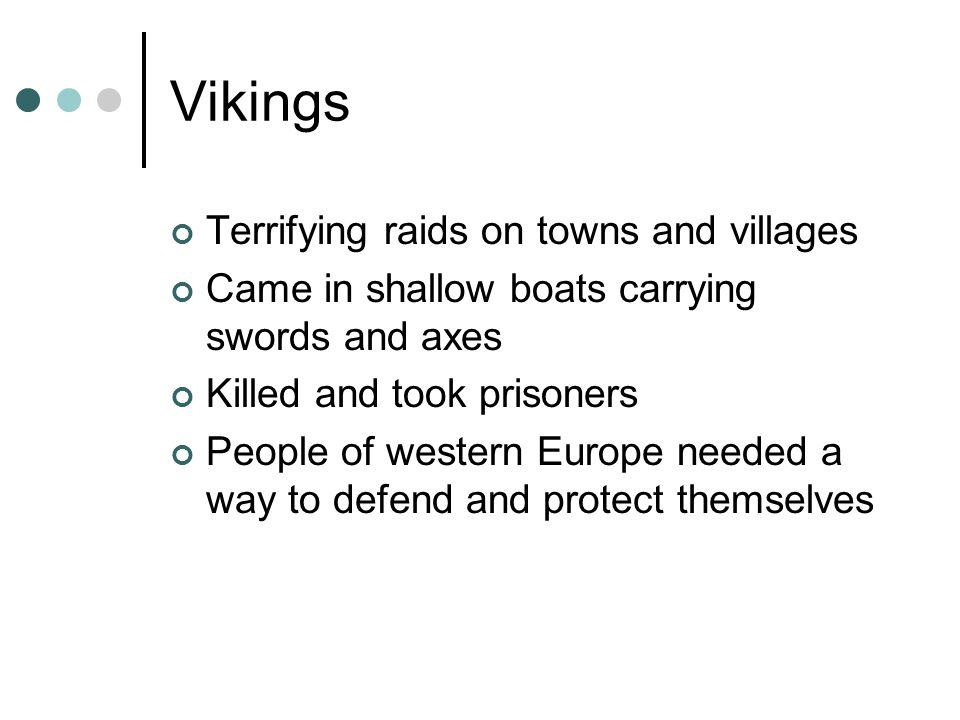 Vikings Terrifying raids on towns and villages