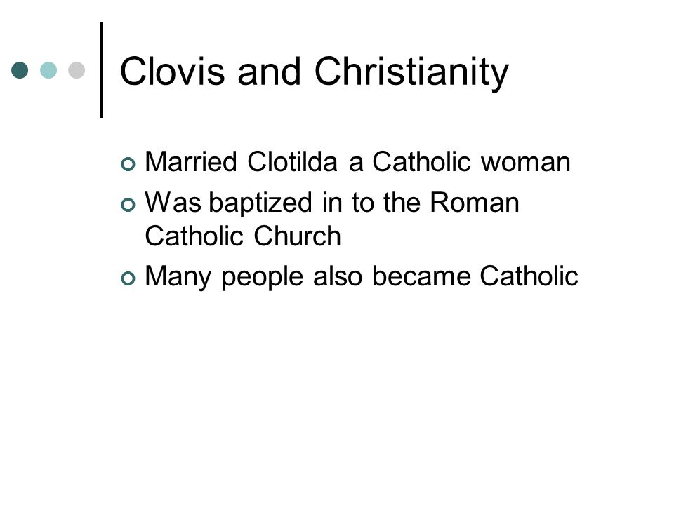 Clovis and Christianity
