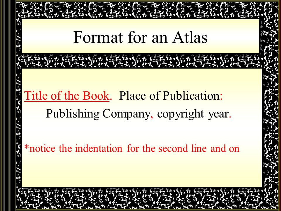 copyright template for book - what your bibliography should look like ppt video