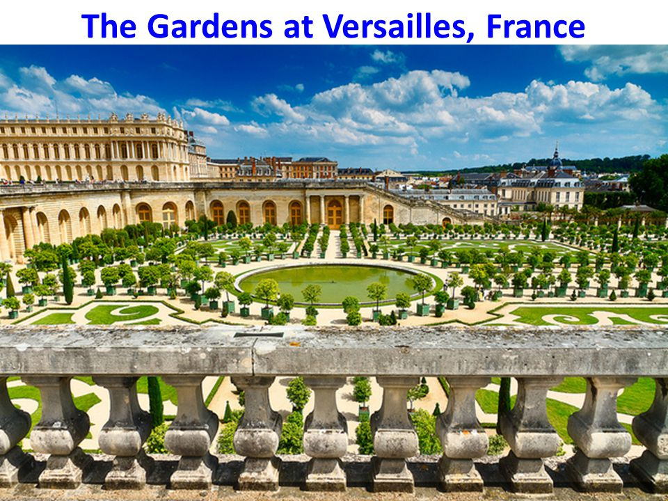 The Gardens at Versailles, France