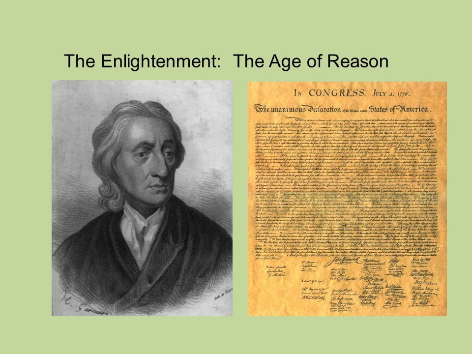 The Enlightenment: The Age of ...