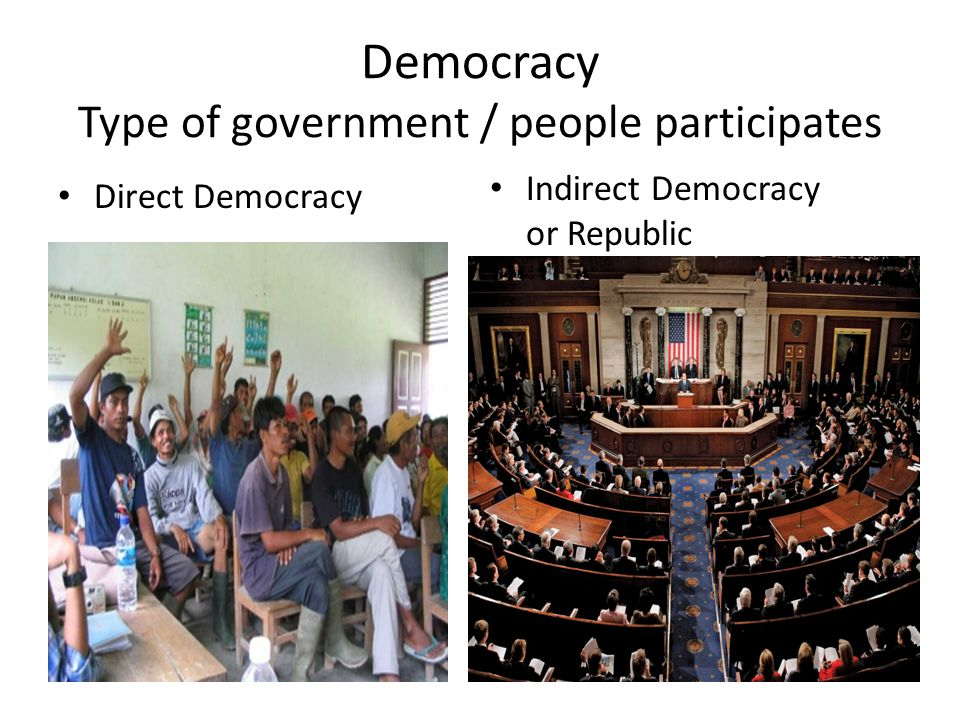 What Is the Opposite of a Democracy?