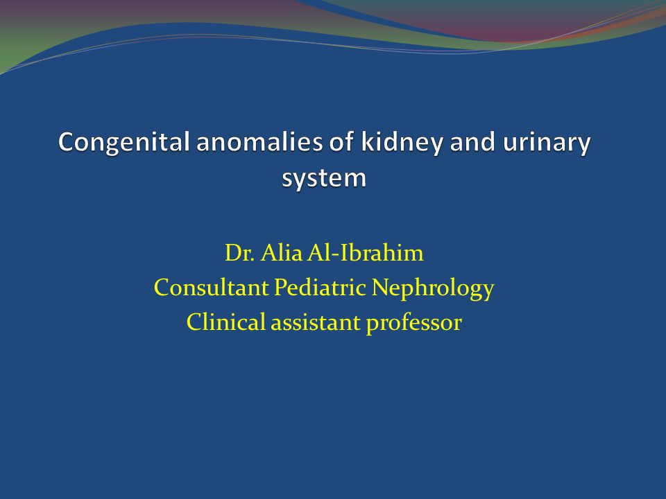 Congenital anomalies of kidney and urinary system ppt video online congenital anomalies of kidney and urinary system ccuart Images