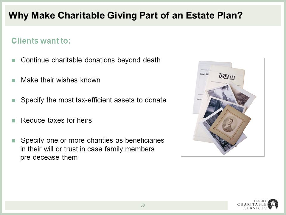 Ten Great Reasons to Give to Charity