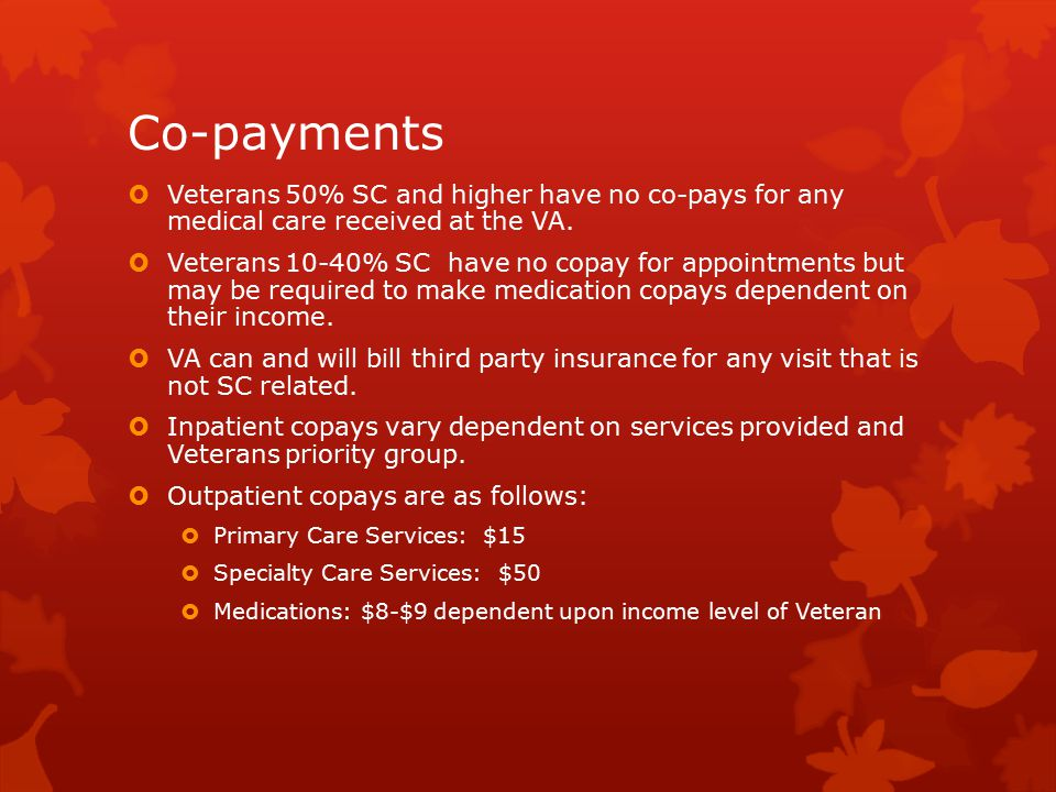 Veterans Health Administration Services - ppt video online download