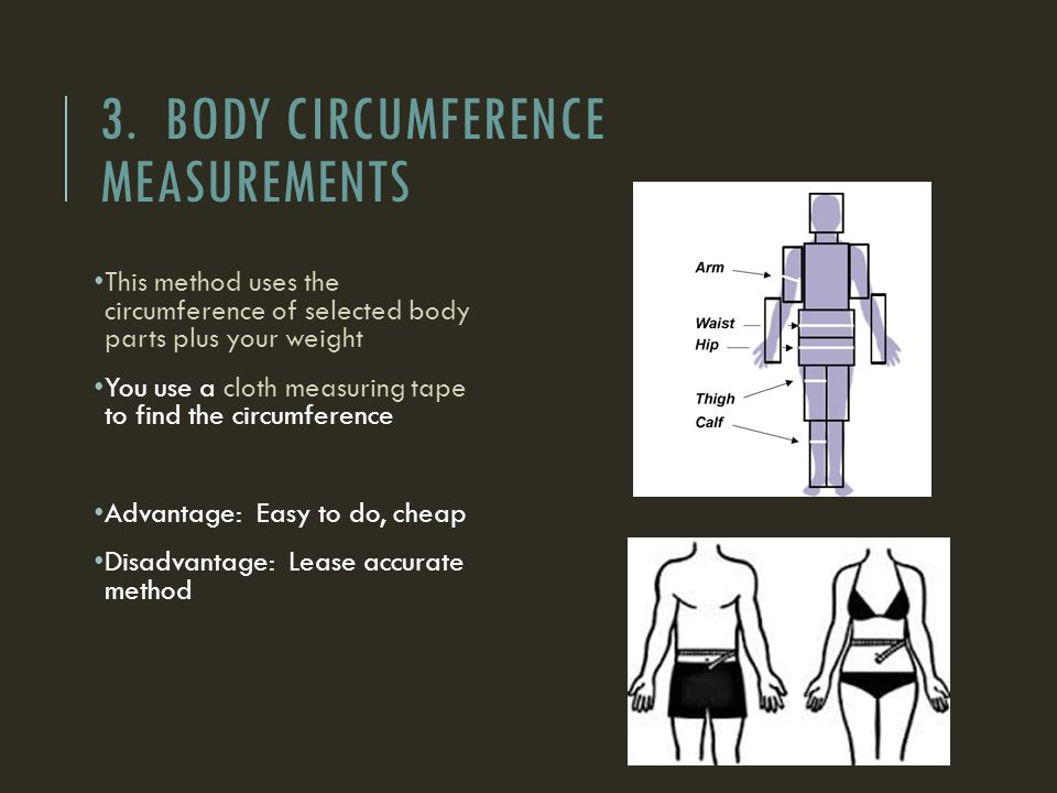 how to take circumference measurements