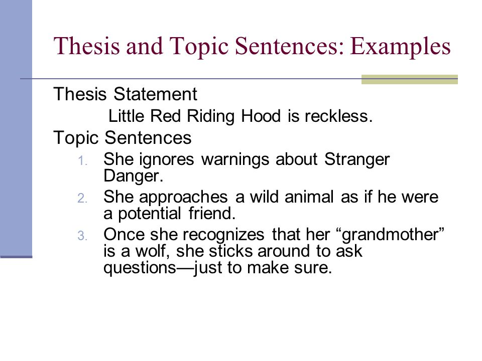 tips on writing a thesis statement  writing center generally the second point listed in the thesis statement should be  developed here like with the previous paragraph include any evidencea  quotation