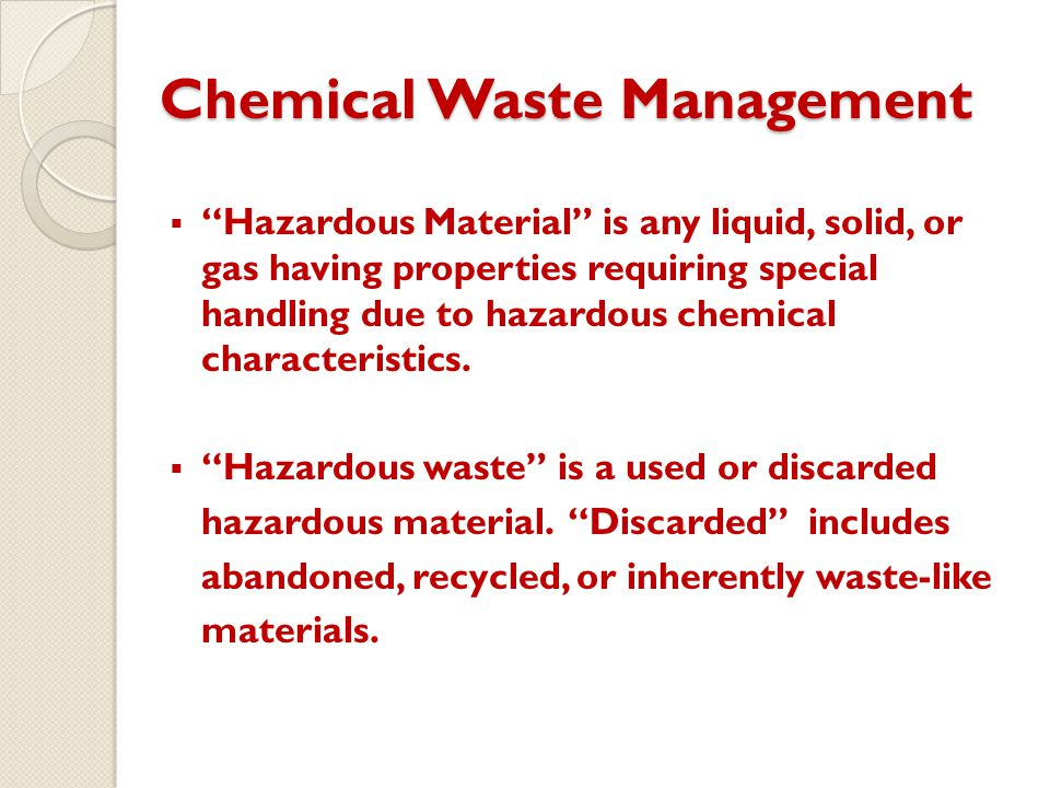 Chemical hygiene training ppt download for How to tell if garbage disposal motor is burned out