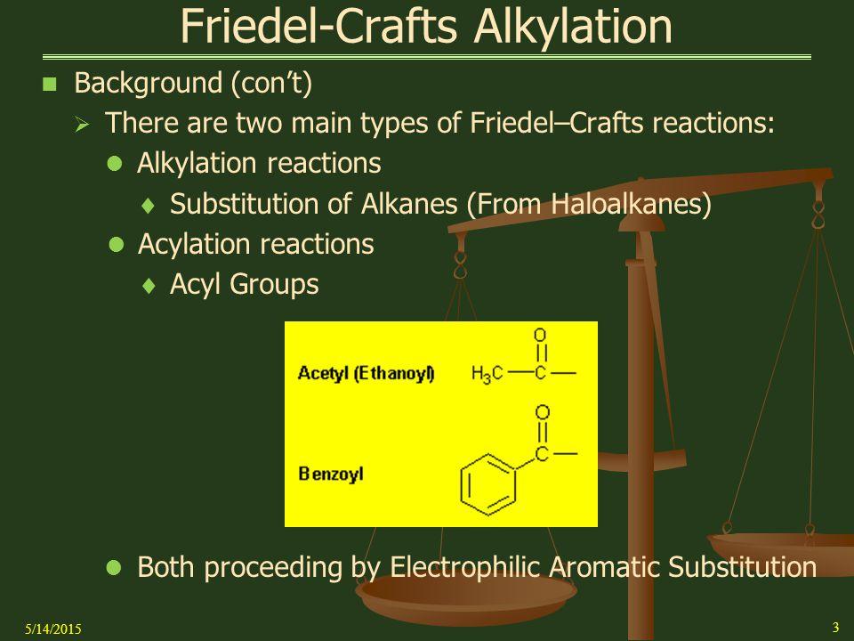 Electrophilic Intermediate Of Friedel Crafts